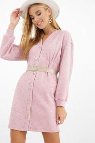 Платье Розалина д/р розовый Glem p62377