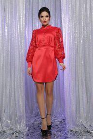 Платье Киприда д/р красный Glem p64190