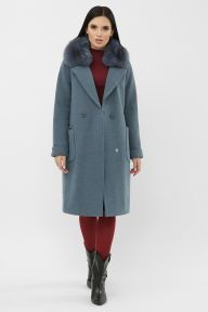 Пальто MS-233 Z 127-джинс Glem p65127