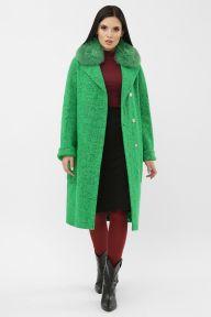 Пальто MS-184 Z Ш7-зеленый Glem p65129