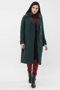 Пальто MS-184 Z Ш18-изумруд Glem p65134