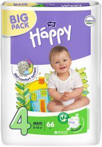 Підгузники дитячі Bella Happy Maxi Plus 4+ (9-20 кг) 62 шт