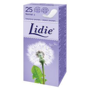 Гігієнічні прокладки Лідія Нормал 25 шт