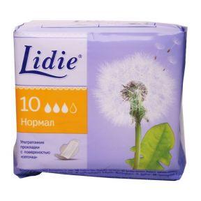Гігієнічні прокладки Лідія ультра нормал 10 шт