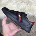 Кроссовки Gucci Ace Embroidered Sneaker Black